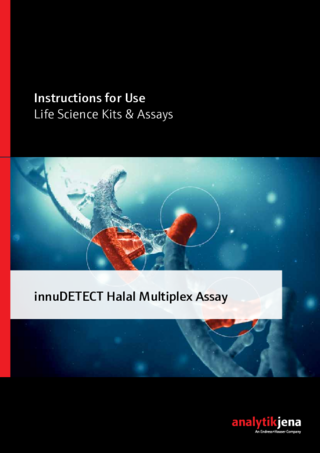 Manual innuDETECT Halal Multiplex Assay
