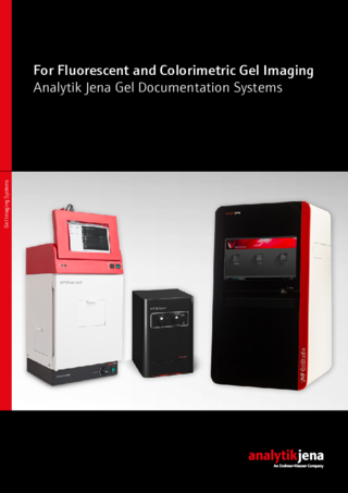 Brochure Gel Imaging Systems