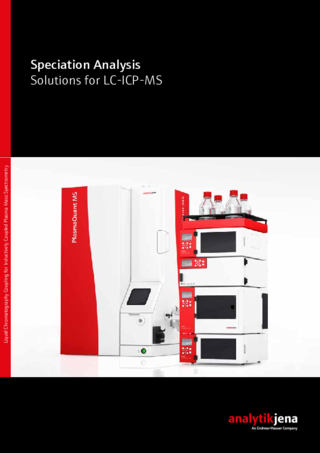 Brochure Solutions for LC-ICP-MS