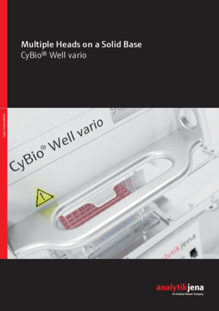 Brochure CyBio Well vario