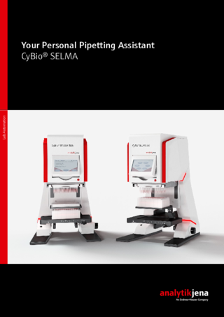 Brochure CyBio SELMA (English)