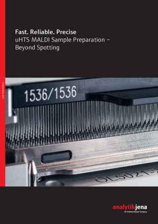 Brochure uHTS MALDI Sample Preparation