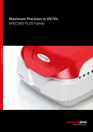 Brochure SPECORD PLUS (English)