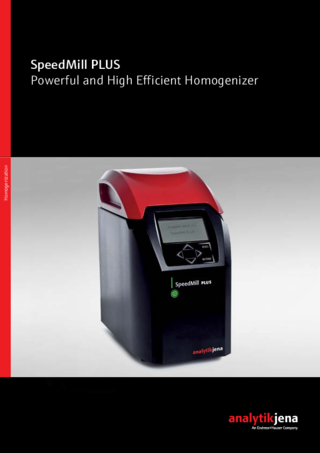 Product Brochure SpeedMill PLUS (English)